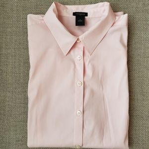 Ann Taylor Pink  Button Down Shirt 10